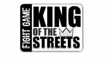 FIGHT GAME KING OF THE STREETS