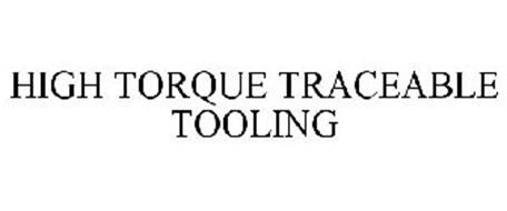 HIGH TORQUE TRACEABLE TOOLING