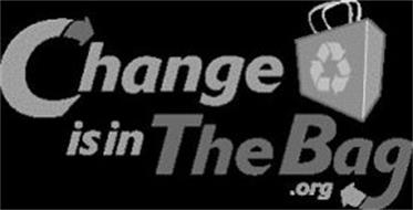 CHANGE IS IN THE BAG.ORG