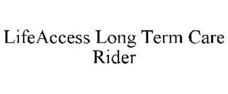 LIFEACCESS LONG TERM CARE RIDER