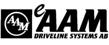 AAM EAAM DRIVELINE SYSTEMS AB