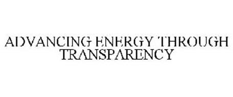 ADVANCING ENERGY THROUGH TRANSPARENCY