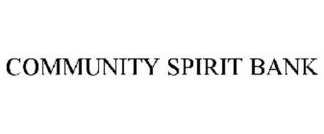 COMMUNITY SPIRIT BANK