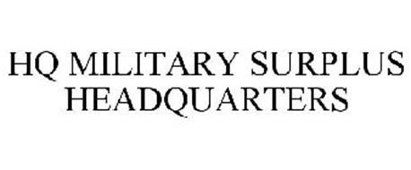 HQ MILITARY SURPLUS HEADQUARTERS