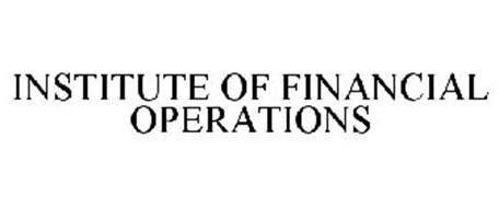 INSTITUTE OF FINANCIAL OPERATIONS