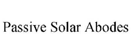 PASSIVE SOLAR ABODES