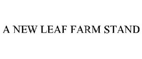 A NEW LEAF FARM STAND