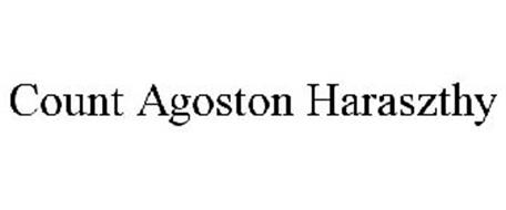 COUNT AGOSTON HARASZTHY