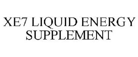 XE7 LIQUID ENERGY SUPPLEMENT