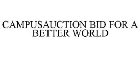 CAMPUSAUCTION BID FOR A BETTER WORLD