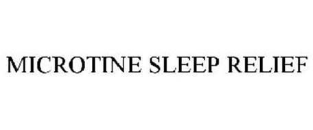 MICROTINE SLEEP RELIEF