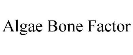 ALGAE BONE FACTOR