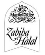 ZABIHA HALAL MAPLE LODGE FARMS LTD