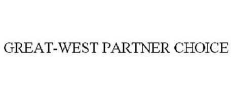 GREAT-WEST PARTNER CHOICE
