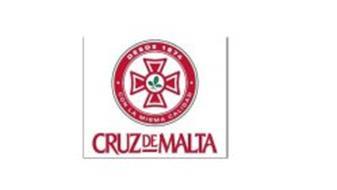 CRUZ DE MALTA DESDE 1874 · CON LA MISMACALIDAD ·