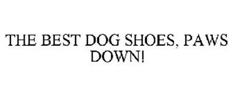 THE BEST DOG SHOES, PAWS DOWN!