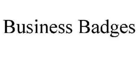 BUSINESS BADGES