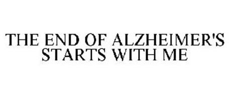 THE END OF ALZHEIMER'S STARTS WITH ME
