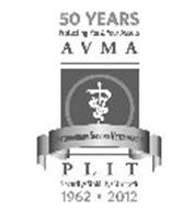 50 YEARS PROTECTING YOU & YOUR ASSETS A V M A VETERINARIANS SERVING VETERINARIANS P L I T SECURITY·STABILITY·STRENGTH 1962-2012