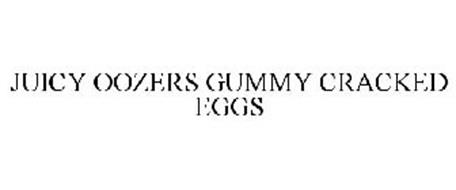 JUICY OOZERS GUMMY CRACKED EGGS