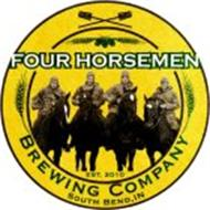 FOUR HORSEMEN BREWING COMPANY EST. 2010SOUTH BEND, IN