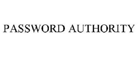 PASSWORD AUTHORITY