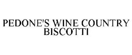 PEDONE'S WINE COUNTRY BISCOTTI