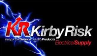 KR KIRBY RISK RESPONSIVE SERVICE QUALITY PRODUCTS ELECTRICAL SUPPLY