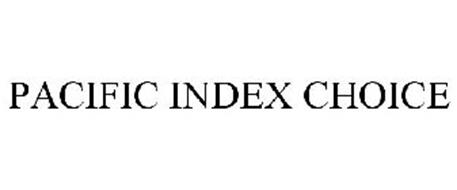 PACIFIC INDEX CHOICE