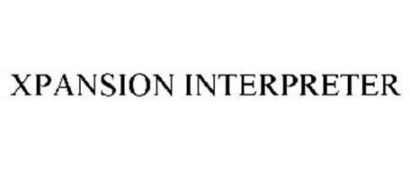 XPANSION INTERPRETER