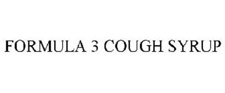 FORMULA 3 COUGH SYRUP