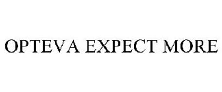 OPTEVA EXPECT MORE