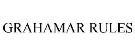 GRAHAMAR RULES