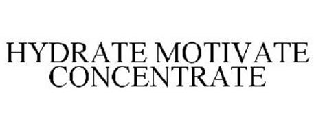 HYDRATE MOTIVATE CONCENTRATE