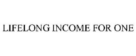 LIFELONG INCOME FOR ONE