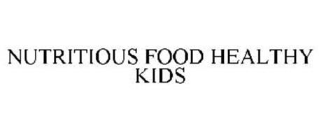 NUTRITIOUS FOOD HEALTHY KIDS