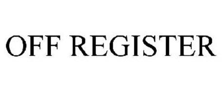 OFF REGISTER