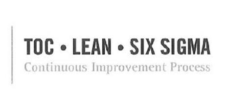 TOC · LEAN · SIX SIGMA CONTINUOUS IMPROVEMENT PROCESS