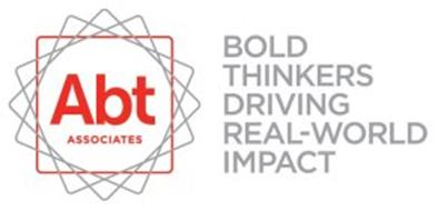 ABT ASSOCIATES BOLD THINKERS DRIVING REAL-WORLD IMPACT