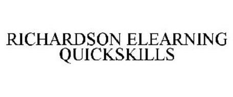 RICHARDSON ELEARNING QUICKSKILLS
