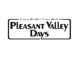 A PRESENTATION OF BE IN HEALTH & PLEASANT VALLEY CHURCH PLEASANT VALLEY DAYS