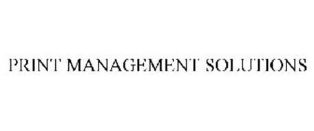 PRINT MANAGEMENT SOLUTIONS