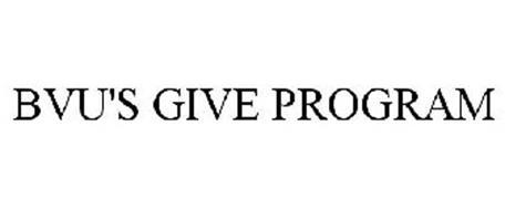 BVU'S GIVE PROGRAM