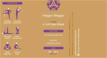 HUGGER MUGGER TAPAS COTTON STRAP FEATURES OUR MOST POPULAR STRAP GOOD FOR INDIVIDUAL PRACTICE SIZE