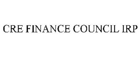 CRE FINANCE COUNCIL IRP