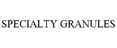SPECIALTY GRANULES