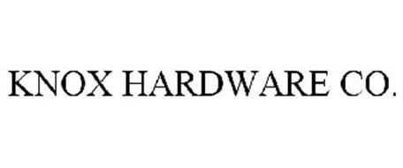KNOX HARDWARE CO.