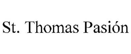 ST. THOMAS PASIÓN