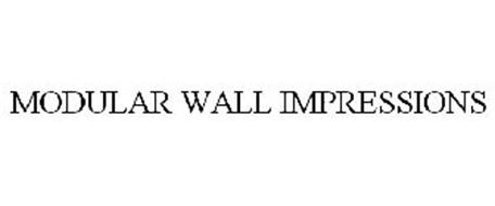 MODULAR WALL IMPRESSIONS