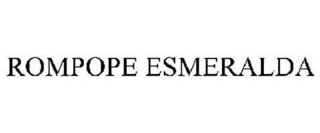 ROMPOPE ESMERALDA